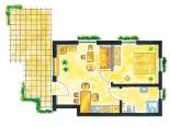 Grundriss Ferienwohnungen im Erdgeschoss