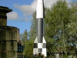 Rakete in Peenemünde