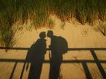 Glück beim Wandern auf Usedom