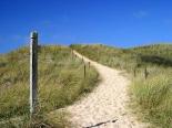 Wanderweg am Strand von Usedom