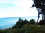 Blick vom Wanderweg auf die Ostsee - © René Henke Ferienwohnungen