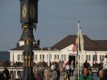 Jugendstiluhr an der Seebrücke Ahlbeck - © René Henke Ferienwohnungen