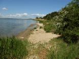 Strand der Halbinsel Gnitz