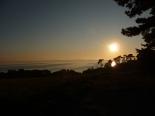 Sonnenuntergang am Loddiner Höft