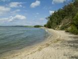 Strand von Pudagla am Achterwasser