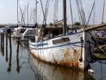 Hoppe Tosse im Hafen von Krummin