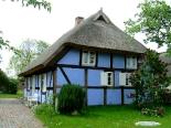 Blaues Haus auf dem Lieper Winkel