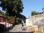 Lyonel Feiniger Radweg auf Usedom bei Kamminke