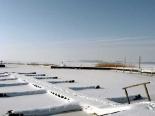 Hafen von Ückeritz im Winter